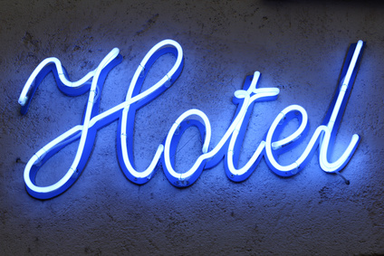 Bespoke Neon Signs London, Hotel Sign