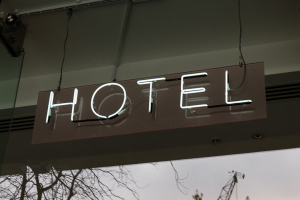 Bespoke Neon Hotel Sign, Sea Containers London