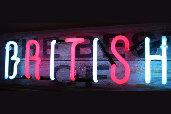 Bespoke Neon Sign, Best of British
