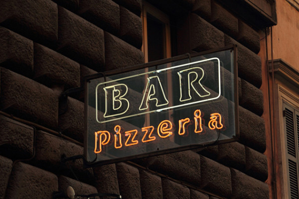 Bespoke Neon Sign for Pizzeria / Bar